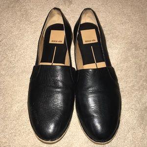 Dolce Vita size 6 black leather shoes